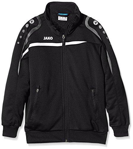 Jako Kinder Trainingsjacke Performance Jacke schwarz/Weiß/Grau 164
