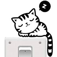 Cat Wall Sticker Decoration for the doorbell or laptop or the Switch light or the car