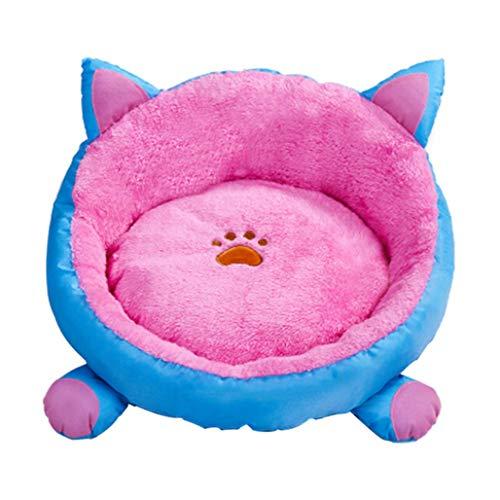 AXchongwu Katzenstreu Zwinger waschbar Winterschlafsack Haustier Katze Matte Teddy kleine Zwinger Vier Jahreszeiten Universal Haustier Nest -