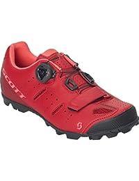 Scott Elite Boa Lady - Zapatillas de Ciclismo para Mujer, Color Rojo y Rosa
