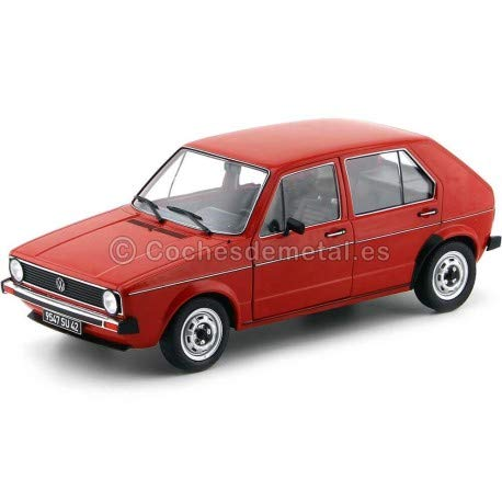 Solido volkswagen golf l 1983red 1: 18scale s1800204