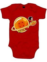 Body bebé Dragon Ball Bola De Dragón 4 estrellas Goku