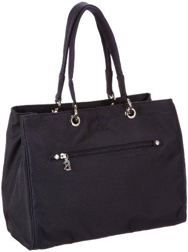 Bogner Leather Shop X 0043788, Borsa a spalla donna, 32 x 27 x 15 cm (L x A x P) Blu (Blau (navy 213))