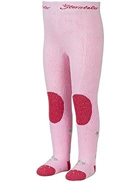 Sterntaler Krabbelstrumpfhose Hexe für Mädchen, ABS-Sohle, Alter: 5-6 Monate, Größe: 74, Pink (Rosa)