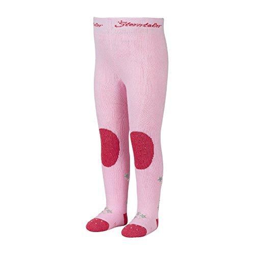 Sterntaler Krabbelstrumpfhose Hexe für Mädchen, ABS-Sohle, Alter: 2-3 Jahre, Größe: 92, Pink (Rosa)