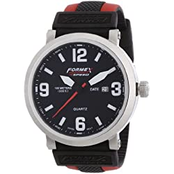 Formex 4 Speed Men's Quartz Watch TS725 72512.1070 with Rubber Strap