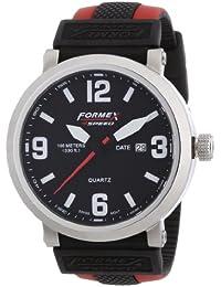 Formex 4 Speed TS725 - Reloj analógico para caballero de silicona negro