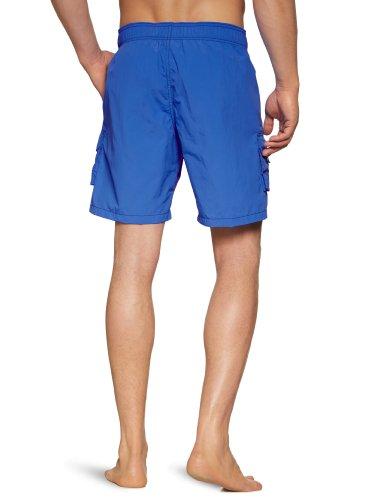 HOM Herren Badeshort Marine Chic Boxer Blau (Blau)