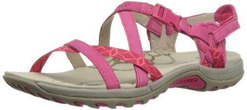 Merrell JACARDIA, Damen Sandalen, Rot (ROSE RED), 37 EU (4 Damen UK)