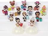 L.O.L. Surprise 555605E7C Tots Ball, Glam Glitter Series Dolls 2-1A, Verschiedene Farben