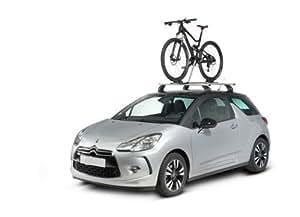 Porte vélo Spécial VTT à fixer sur barres de toit de Peugeot Partner (Monospace) - (depuis 06/1996 => 12/2007) - 1 vélo