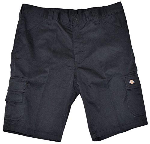 Dickies ED24/7 Shorts 2 Schenkeltaschen Kurze Hose (52, schwarz/schwarz)