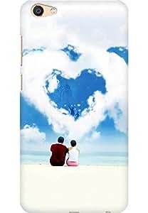AMEZ designer printed 3d premium high quality back case cover for Vivo X7 Plus (Love Dreams)