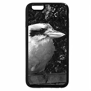 iPhone 6S Plus Case, iPhone 6 Plus Case (Black & White) - Australian Kookaburra