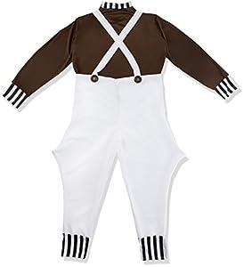 I Love Fancy Dress ilfd7008l Childs Trabajador de fábrica Disfraces (Large)