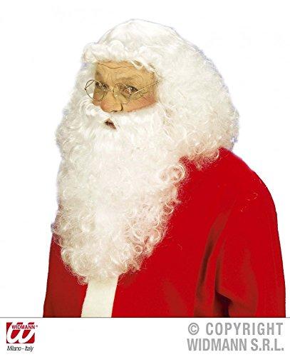 Hochwertige Weihnachtsmann Perücke mit Bart Topqualität Santa Nikolaus