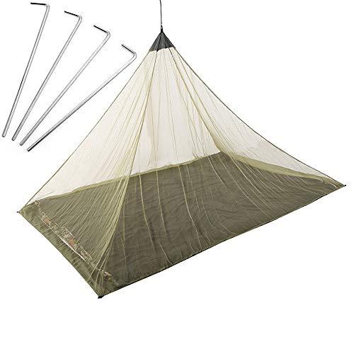 Outdoor-Produkte Moskitonetz Außenzelt Insektennetz Mit Tragetasche, Kompakt Und Leicht, Für Schlafsäcke, Camping, Reisen (Color : Green)