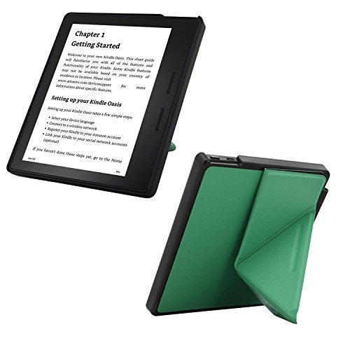 Kindle Oasis Case, Standing Origami Slim Shell Case Cover with With Auto  Wake & Sleep Function for Amazon Kindle Oasis 2016 (Light Green)