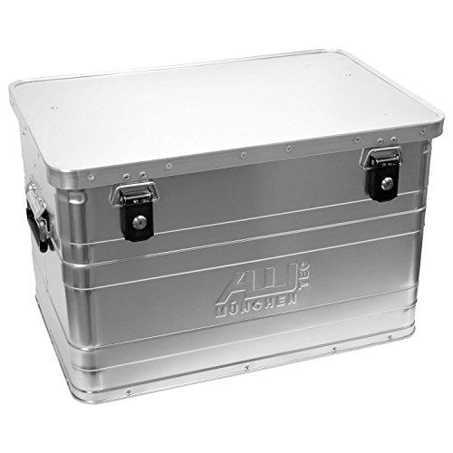 ALUTEC MÜNCHEN 2031070 Aluminiumbox B70 mit Zylinderschloss, 595 mm x 390 mm x 380 mm