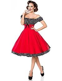 Suchergebnis auf Amazon.de für  rockabilly kleid rot  Bekleidung 0559831ae2