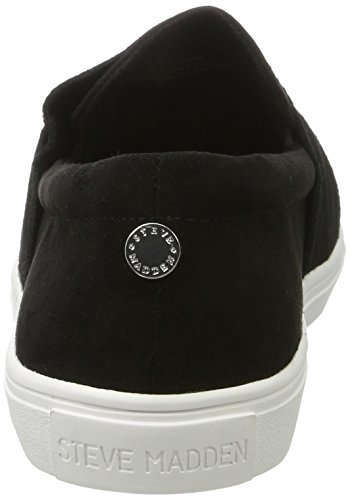 Steve Madden Knotty Slip-on, Sneakers basses femme Noir (Black)
