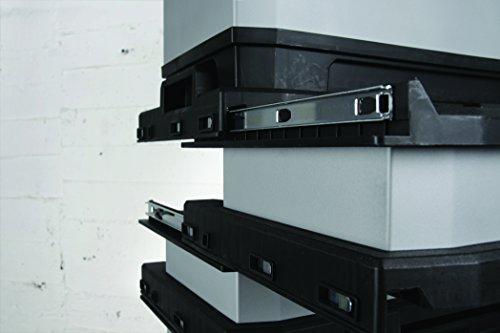 Stanley Fatmax 1-95-622 Rollende Werkstatt Metall-Kunststoff mit Rädern, abnehmbarer Werkzeugbox und herausnehmbarer Trage, 57 x 90 x 39cm - 7