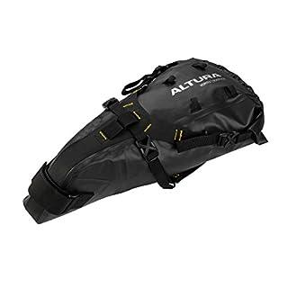 Altura Vortex Fahrrad-Satteltasche, Unisex, schwarz