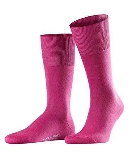 Rosa Winter Stiefel (FALKE Herren Airport Woll-/ Baumwoll Strümpfe Einfarbig Business Socken, Blickdicht, arctic pink, 39-40)