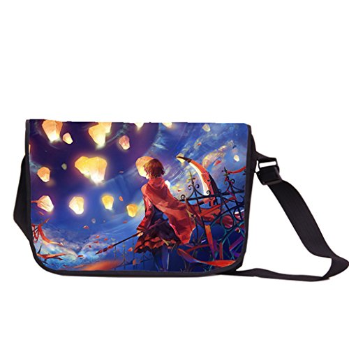 Siawasey anime Rwby Ruby rose Cosplay zaino messenger bag borsa a tracolla nero RWBY21 RWBY10