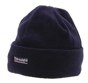 Fleece Rollmütze mit Thinsulatefütterung blau Blau/Blue