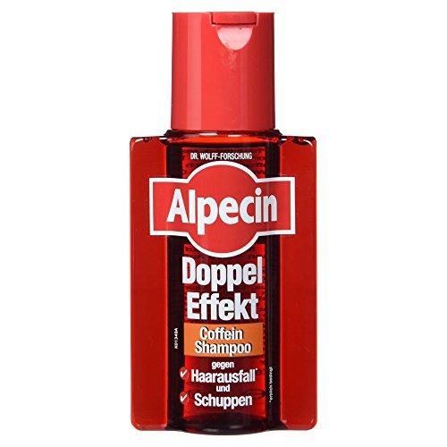 Alpecin Doppel Effekt Coffein Shampoo gegen Schuppen und Haarausfall, 200 ml