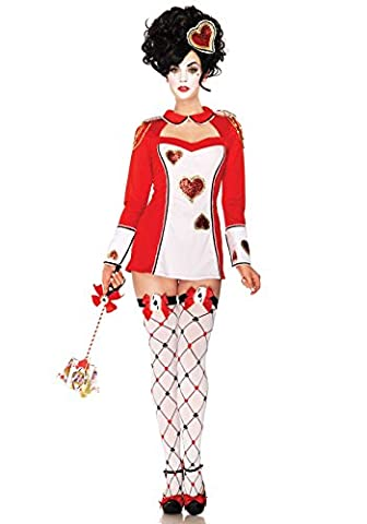 Leg Avenue 83913 - Karten Wache Kostüm Set, Größe: S/M,