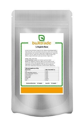 2 x 1 kg L-Arginin Base Pulver L Arginin Aminosäure Fitness 2 kg