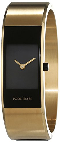 Jacob Jensen Women's Quartz Watch Analogue Display and Stainless Steel Strap JACOB JENSEN ECLIPSE ITEM NO. 444