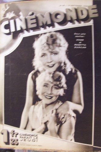 Cinémonde, n° 48, 19 sept. 1929 : vivian et rosetta duncan le cinéma anglais, espagnol et chinois par Collectif