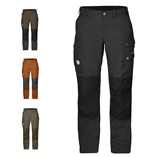 Fjällräven–Pantaloni da trekking Donna Barents Pro grigio