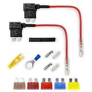 Add-a-Circuit Fuse Tap In Piggy Back Fuse Holder 12/24V (2x ATO / ATV Blade)