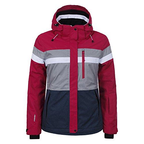 Icepeak Damen Skijacke Katia 53228 Cranberry 40