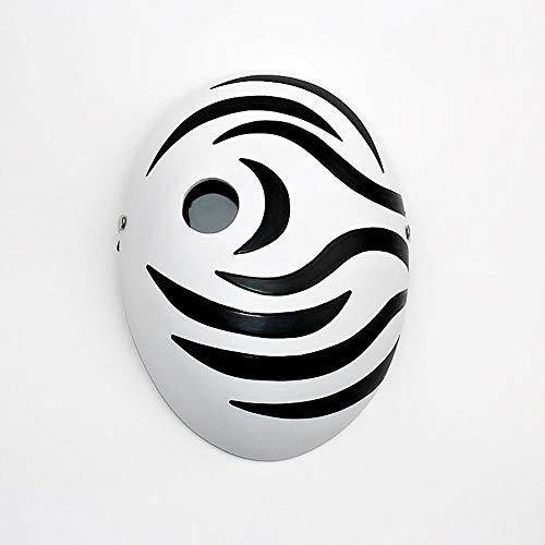 YAJAN-masks Máscara Blanca de Halloween Resina Pintada a Mano con Xiaoyu Zhibo A FEI Dark Storm Ghost Festival Horror Película Horror De Lujo de látex Verde de Miedo Cabeza Llena Personaje