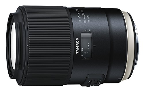 Great Buy for Tamron 90 mm F2.8 VC USD Lens for Canon DSLR Camera Discount