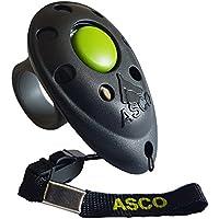 Asco Premium Clicker, dedos Clicker para Clicker Training, perros gatos Caballos profesional de Clicker, entrenamiento Perros klicker