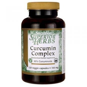 Swanson Superior Herbs Curcumin Complex, 350mg, 120 Vegetarian Capsules