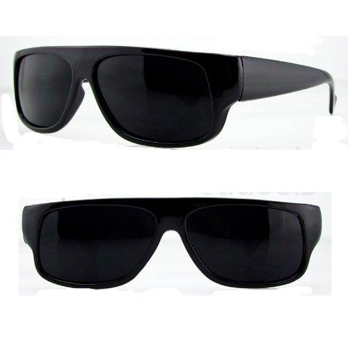 30bcf5a315 Original OG Mad Dogger Locs Shades Sunglasses w Super Dark Lens (Black)