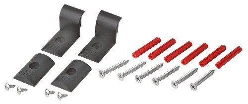 C.R. Laurence Dk68b Hütte Serie Hardware-Pack für briten eloxiert und gebürstet Nickel-Kits -