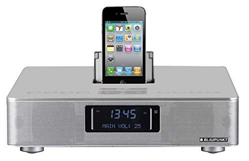 Blaupunkt IP 240 Musik-Player | Dockingstation, Ladestation für iPhone 3,4 oder iPod | USB und SD Kartenslot | Fernbedienung | Dual-Wecker | 20 Watt Stereoanlage
