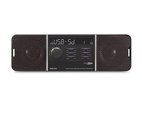 Caliber RMD 213 USB-SD-Aux Autoradio mit eingebauten Lautsprecher ohne CD - Volt-computer-lautsprecher 12