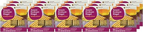 tegut... Sesam-Krokant-Riegel, 15er Pack (15 x 90 g)