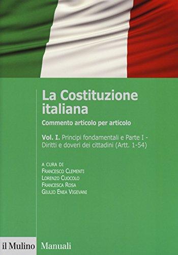 La Costituzione italiana. Commento articolo per articolo: 1