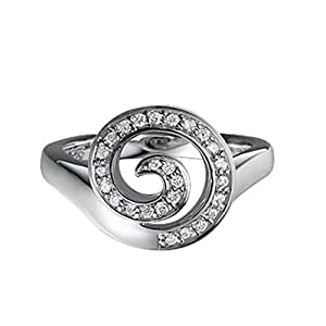Pierre Cardin Damen-Ring Fontaine Sterling-Silber 925