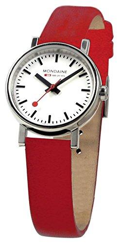 Original diseño de pulsera para mujer MONDAINE colour original de la estación de tren de reloj suizo MONDAINE - Evo 26 millimeter - A658, 30301, 11SBC